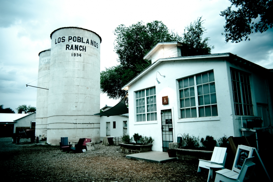 Photos of Los Poblanos Organic Farm